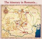 Itinerary in ROMANIA