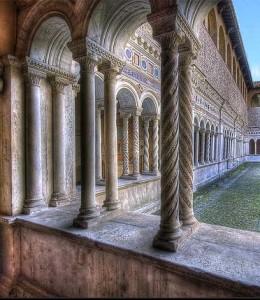 Monreale columns